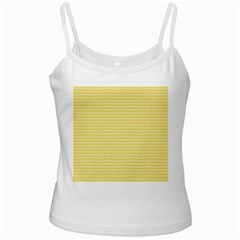 Pattern Yellow Heart Heart Pattern Ladies Camisoles