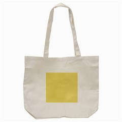Pattern Yellow Heart Heart Pattern Tote Bag (Cream)