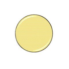 Pattern Yellow Heart Heart Pattern Hat Clip Ball Marker (10 pack)