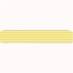 Pattern Yellow Heart Heart Pattern Small Bar Mats