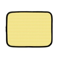 Pattern Yellow Heart Heart Pattern Netbook Case (Small)