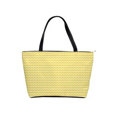 Pattern Yellow Heart Heart Pattern Shoulder Handbags