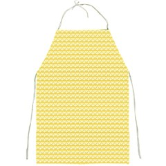 Pattern Yellow Heart Heart Pattern Full Print Aprons