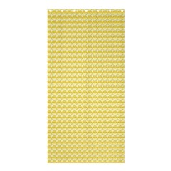Pattern Yellow Heart Heart Pattern Shower Curtain 36  x 72  (Stall)