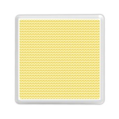 Pattern Yellow Heart Heart Pattern Memory Card Reader (Square)