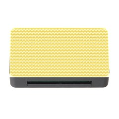 Pattern Yellow Heart Heart Pattern Memory Card Reader with CF