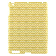Pattern Yellow Heart Heart Pattern Apple iPad 3/4 Hardshell Case