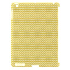 Pattern Yellow Heart Heart Pattern Apple iPad 3/4 Hardshell Case (Compatible with Smart Cover)