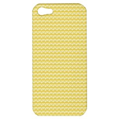 Pattern Yellow Heart Heart Pattern Apple iPhone 5 Hardshell Case