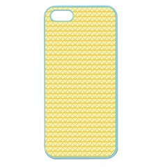 Pattern Yellow Heart Heart Pattern Apple Seamless iPhone 5 Case (Color)