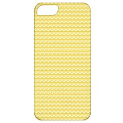 Pattern Yellow Heart Heart Pattern Apple iPhone 5 Classic Hardshell Case