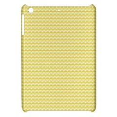 Pattern Yellow Heart Heart Pattern Apple iPad Mini Hardshell Case