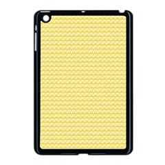 Pattern Yellow Heart Heart Pattern Apple iPad Mini Case (Black)