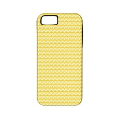 Pattern Yellow Heart Heart Pattern Apple iPhone 5 Classic Hardshell Case (PC+Silicone)