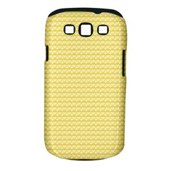 Pattern Yellow Heart Heart Pattern Samsung Galaxy S III Classic Hardshell Case (PC+Silicone)