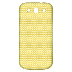 Pattern Yellow Heart Heart Pattern Samsung Galaxy S3 S III Classic Hardshell Back Case