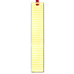 Pattern Yellow Heart Heart Pattern Large Book Marks