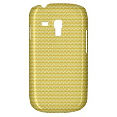 Pattern Yellow Heart Heart Pattern Galaxy S3 Mini