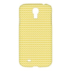 Pattern Yellow Heart Heart Pattern Samsung Galaxy S4 I9500/I9505 Hardshell Case