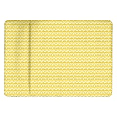 Pattern Yellow Heart Heart Pattern Samsung Galaxy Tab 10.1  P7500 Flip Case