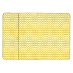 Pattern Yellow Heart Heart Pattern Samsung Galaxy Tab 8.9  P7300 Flip Case