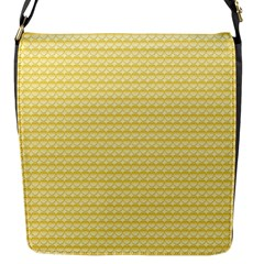 Pattern Yellow Heart Heart Pattern Flap Messenger Bag (S)