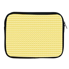 Pattern Yellow Heart Heart Pattern Apple iPad 2/3/4 Zipper Cases