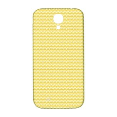 Pattern Yellow Heart Heart Pattern Samsung Galaxy S4 I9500/I9505  Hardshell Back Case