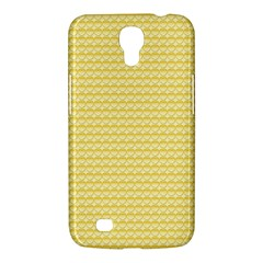 Pattern Yellow Heart Heart Pattern Samsung Galaxy Mega 6.3  I9200 Hardshell Case