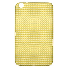 Pattern Yellow Heart Heart Pattern Samsung Galaxy Tab 3 (8 ) T3100 Hardshell Case