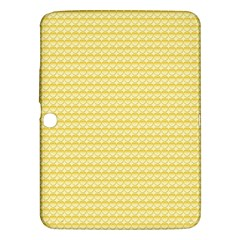 Pattern Yellow Heart Heart Pattern Samsung Galaxy Tab 3 (10.1 ) P5200 Hardshell Case
