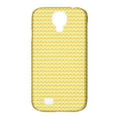 Pattern Yellow Heart Heart Pattern Samsung Galaxy S4 Classic Hardshell Case (PC+Silicone)
