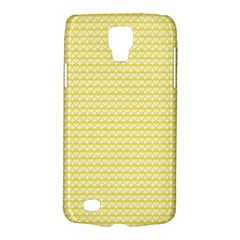 Pattern Yellow Heart Heart Pattern Galaxy S4 Active