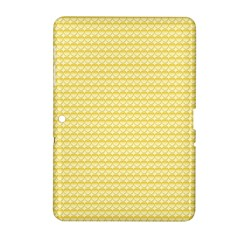Pattern Yellow Heart Heart Pattern Samsung Galaxy Tab 2 (10.1 ) P5100 Hardshell Case