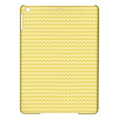 Pattern Yellow Heart Heart Pattern iPad Air Hardshell Cases