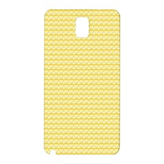 Pattern Yellow Heart Heart Pattern Samsung Galaxy Note 3 N9005 Hardshell Back Case
