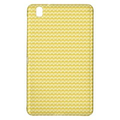 Pattern Yellow Heart Heart Pattern Samsung Galaxy Tab Pro 8.4 Hardshell Case