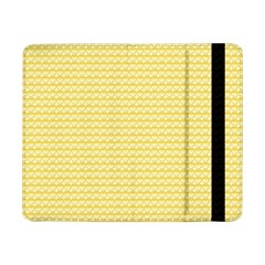 Pattern Yellow Heart Heart Pattern Samsung Galaxy Tab Pro 8.4  Flip Case