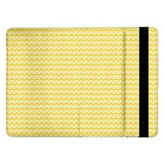 Pattern Yellow Heart Heart Pattern Samsung Galaxy Tab Pro 12.2  Flip Case