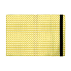 Pattern Yellow Heart Heart Pattern iPad Mini 2 Flip Cases