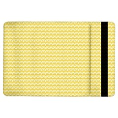 Pattern Yellow Heart Heart Pattern iPad Air Flip