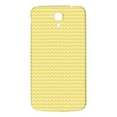 Pattern Yellow Heart Heart Pattern Samsung Galaxy Mega I9200 Hardshell Back Case by Nexatart