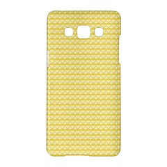 Pattern Yellow Heart Heart Pattern Samsung Galaxy A5 Hardshell Case