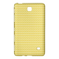 Pattern Yellow Heart Heart Pattern Samsung Galaxy Tab 4 (8 ) Hardshell Case