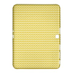 Pattern Yellow Heart Heart Pattern Samsung Galaxy Tab 4 (10.1 ) Hardshell Case