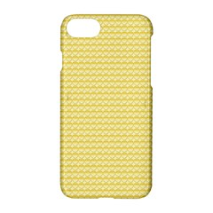 Pattern Yellow Heart Heart Pattern Apple iPhone 7 Hardshell Case