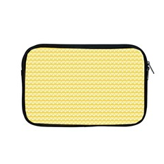 Pattern Yellow Heart Heart Pattern Apple MacBook Pro 13  Zipper Case