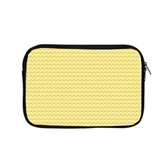 Pattern Yellow Heart Heart Pattern Apple MacBook Pro 15  Zipper Case