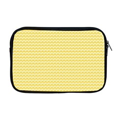 Pattern Yellow Heart Heart Pattern Apple MacBook Pro 17  Zipper Case