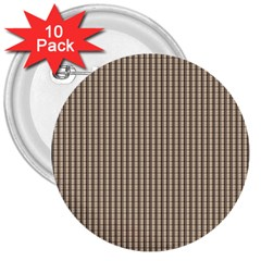 Pattern Background Stripes Karos 3  Buttons (10 Pack)  by Nexatart